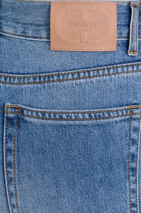 niebieski Twinset - Jeansy