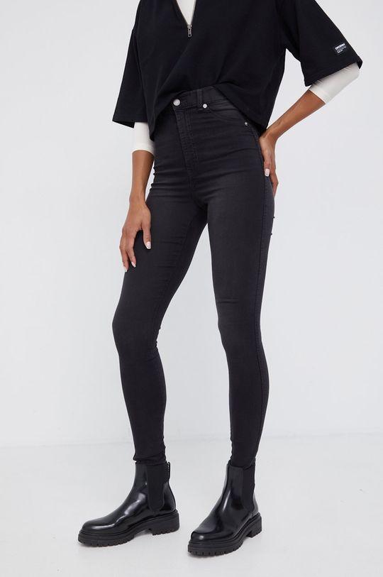 μαύρο Dr. Denim - τζιν παντελονι Solitaire Γυναικεία