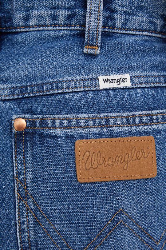 niebieski Wrangler - Jeansy Wild West 603