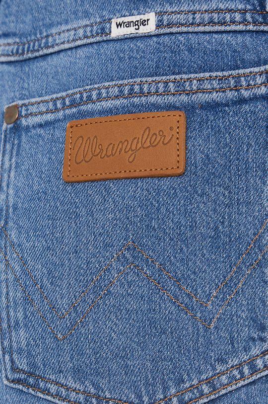 niebieski Wrangler - Jeansy World Wide 661