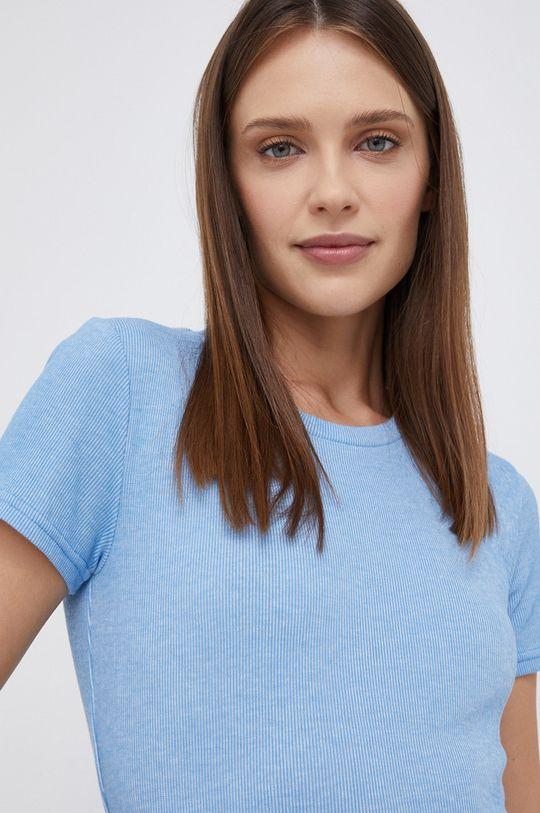 niebieski Wrangler - T-shirt