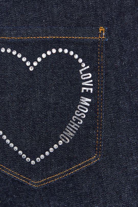 námořnická modř Love Moschino - Džíny