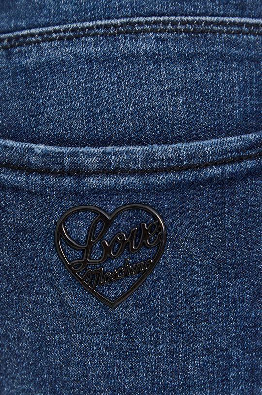 niebieski Love Moschino - Jeansy