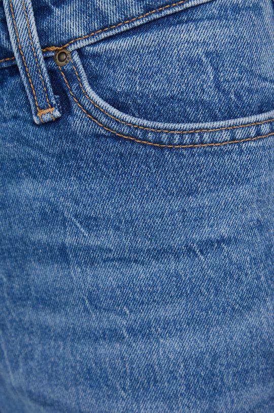 niebieski Lee - Jeansy Wide Leg Long