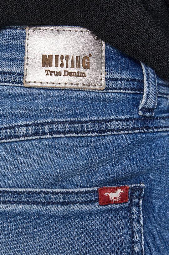 niebieski Mustang - Jeansy Jasmin Slim