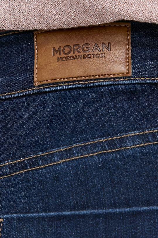granatowy Morgan - Jeansy Pam