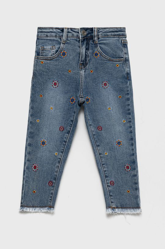 Desigual - Jeansy dziecięce blady niebieski