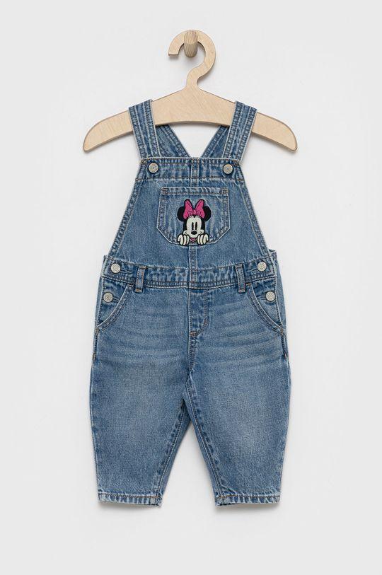 niebieski GAP - Ogrodniczki dziecięce x Disney Dziewczęcy