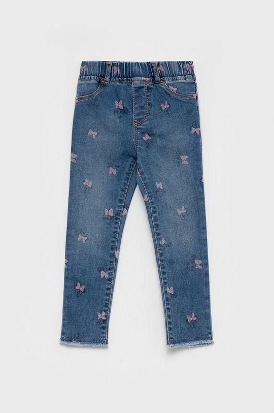 niebieski GAP - Jeansy dziecięce x Disney Dziewczęcy