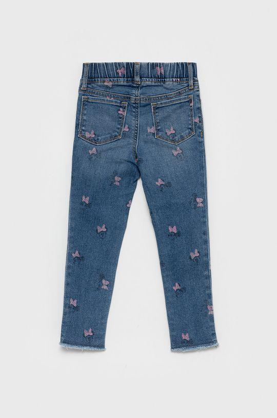 GAP - Jeansy dziecięce x Disney niebieski