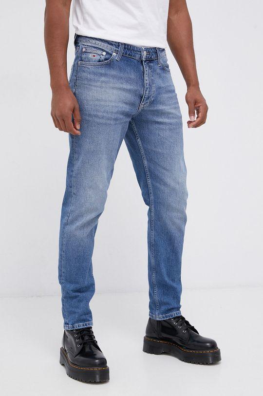 niebieski Tommy Jeans - Jeansy Dad Jeans Męski