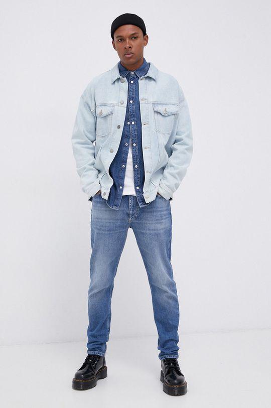 Tommy Jeans - Jeansy Dad Jeans niebieski