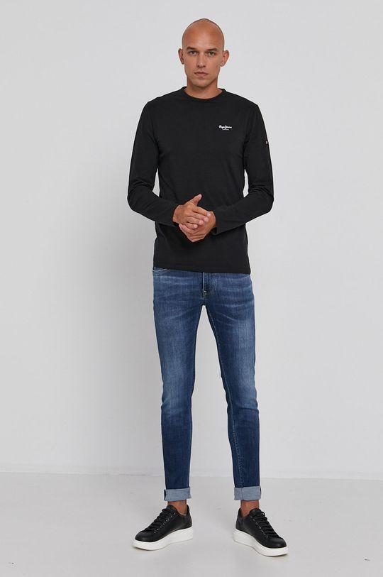 Pepe Jeans - Džíny Finsbury námořnická modř