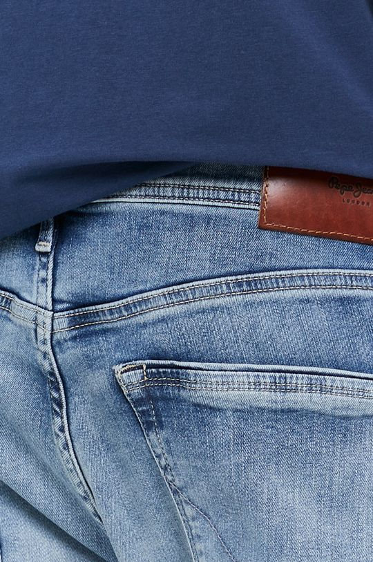 modrá Pepe Jeans - Džíny Stanley