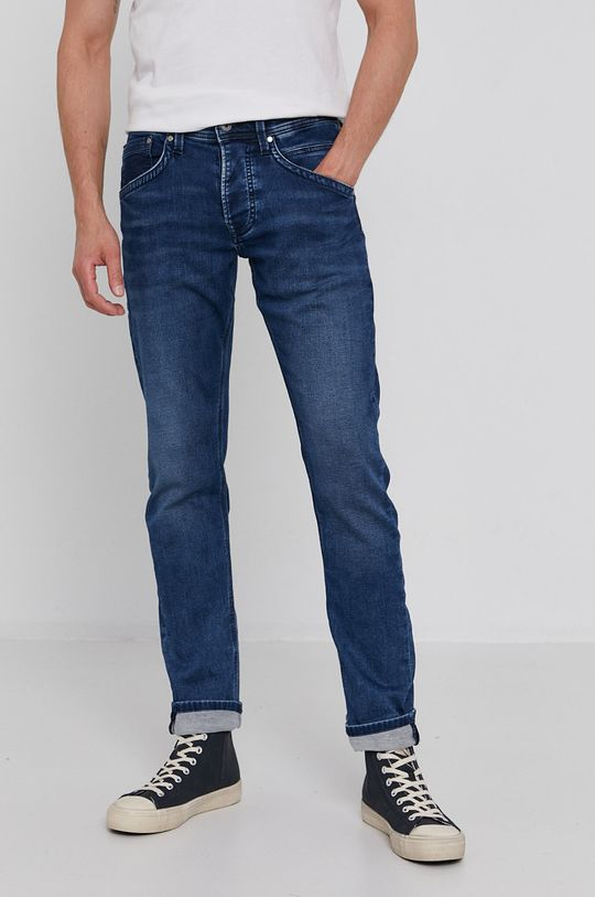 granatowy Pepe Jeans - Jeansy TRACK Męski