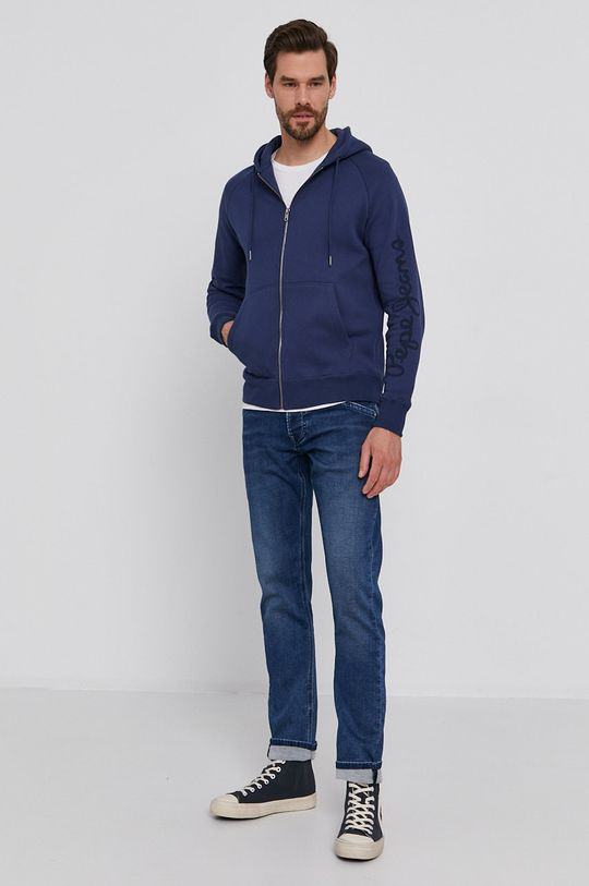 Pepe Jeans - Jeansy TRACK granatowy