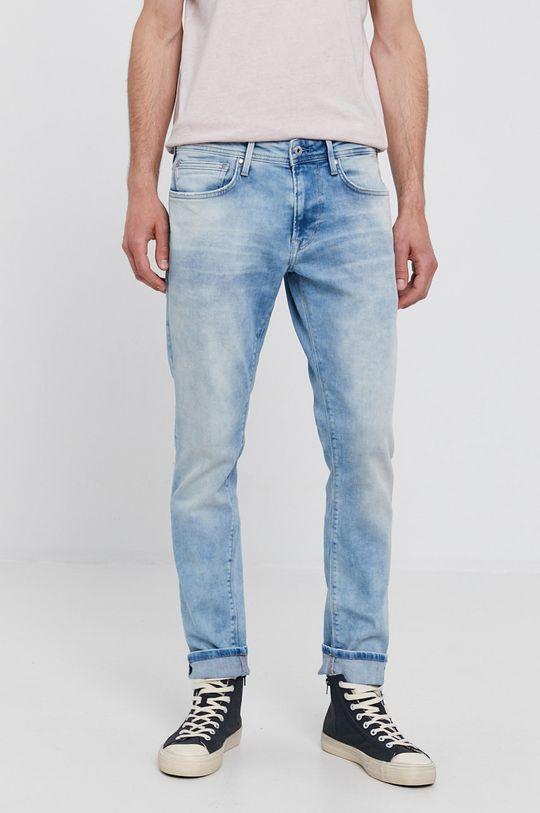 modrá Pepe Jeans - Džíny STANLEY Pánský
