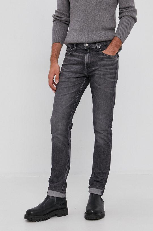 szary Calvin Klein Jeans - Jeansy Męski
