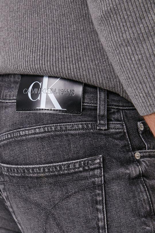 szary Calvin Klein Jeans - Jeansy