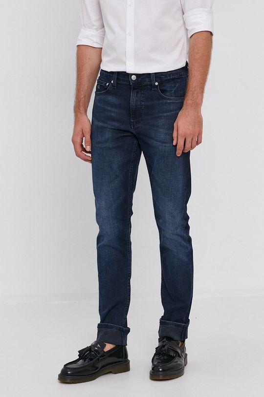 granatowy Calvin Klein Jeans - Jeansy Męski