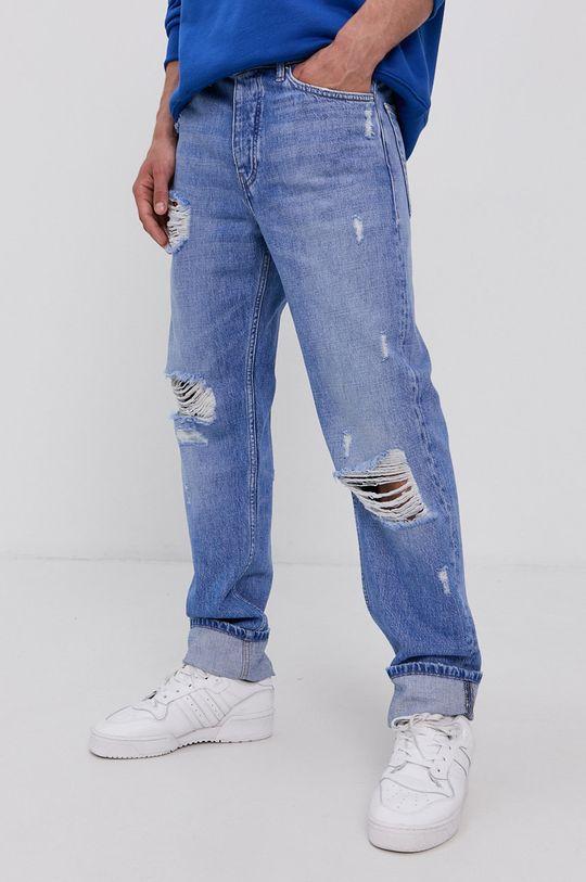 modrá Tommy Jeans - Džíny Ethan Pánský
