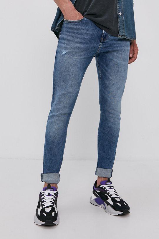 modrá Tommy Jeans - Džíny Finley Pánský