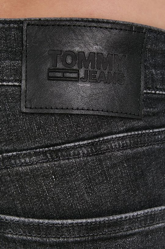grafitová Tommy Jeans - Džíny Scanton
