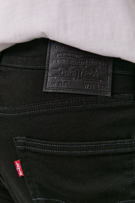 czarny Levi's - Jeansy 514