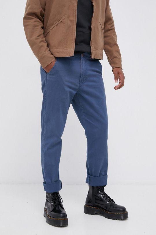 niebieski Wrangler - Spodnie Męski