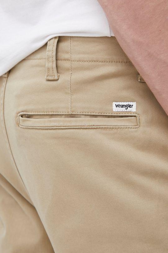 beżowy Wrangler - Spodnie