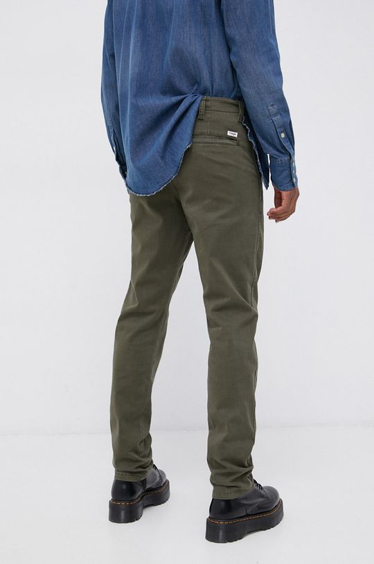 Wrangler - Spodnie 97 % Bawełna, 3 % Elastan