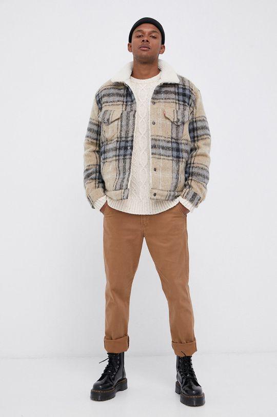 Wrangler - Spodnie brązowy