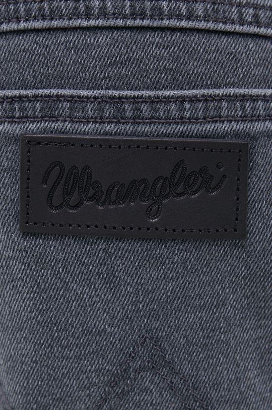 szary Wrangler - Jeansy Texas Taper 823