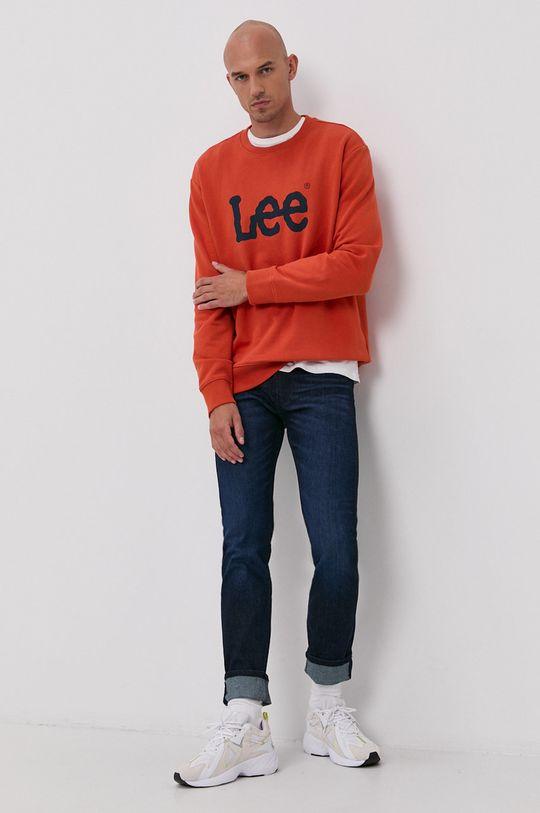 Lee - Jeansy Rider granatowy