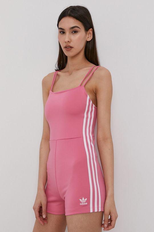 różowy adidas Originals - Kombinezon Damski