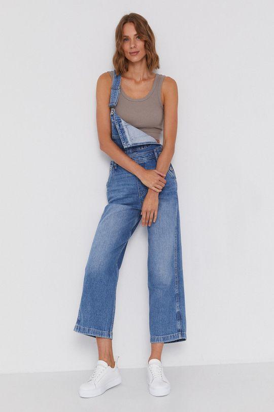 albastru Pepe Jeans - Salopeta Shay Indygo De femei