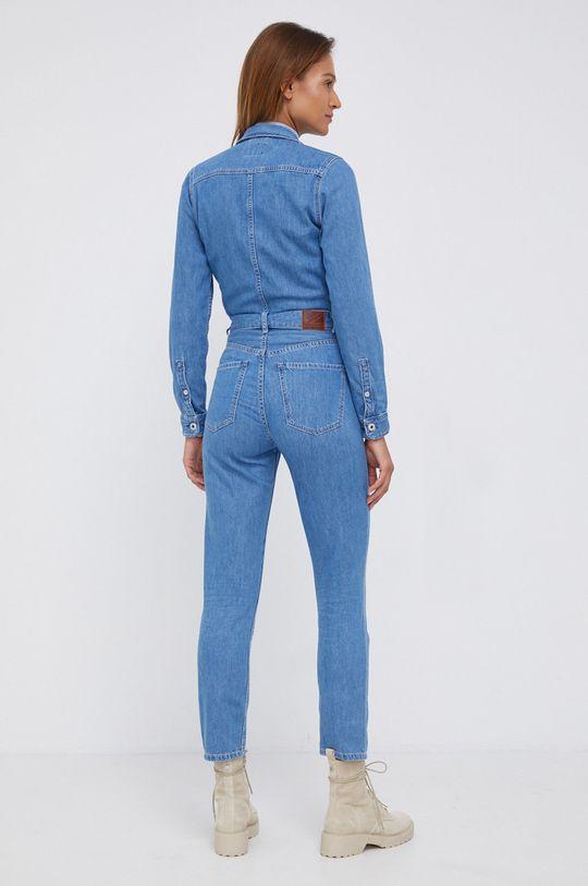 Pepe Jeans - Kombinezon jeansowy Callie Materiał zasadniczy: 100 % Bawełna, Inne materiały: 35 % Bawełna, 65 % Poliester