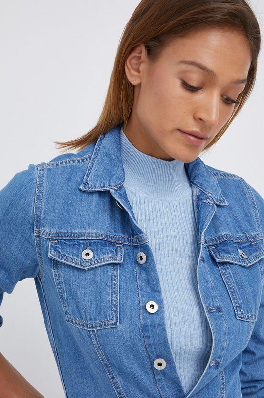 niebieski Pepe Jeans - Kombinezon jeansowy Callie