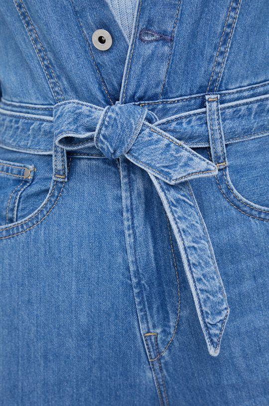 Pepe Jeans - Kombinezon jeansowy Callie