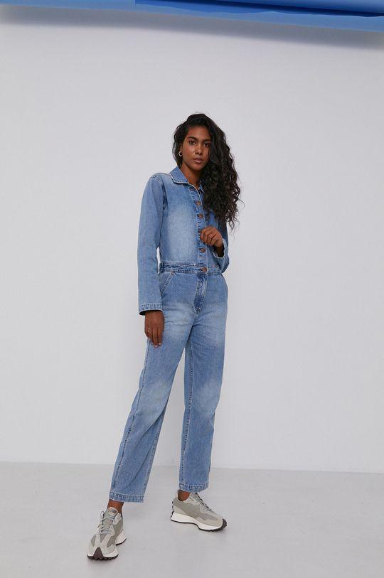 niebieski Billabong - Kombinezon jeansowy x Wrangler Damski