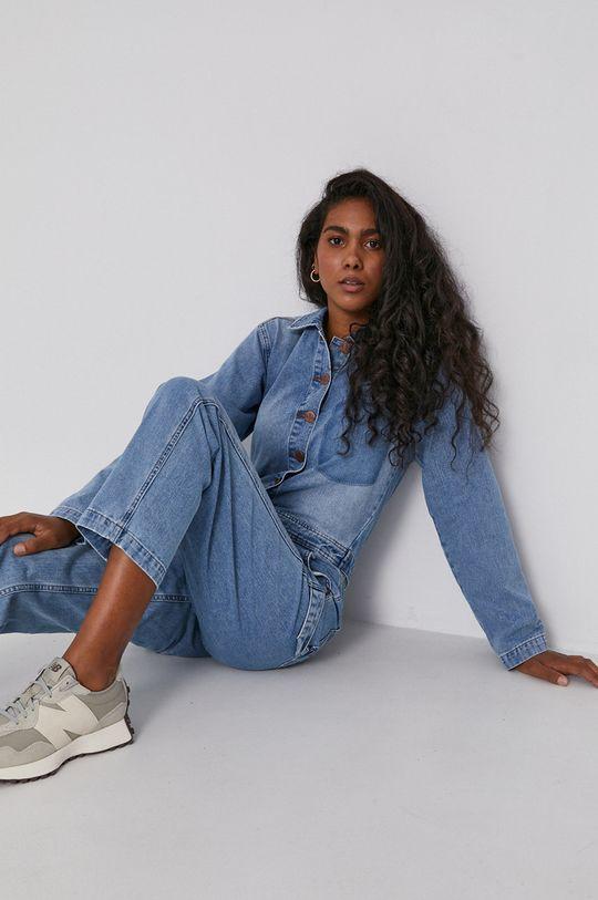 niebieski Billabong - Kombinezon jeansowy x Wrangler