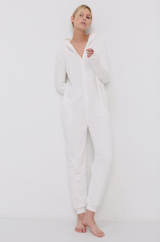biały Brave Soul - Kombinezon piżamowy Damski