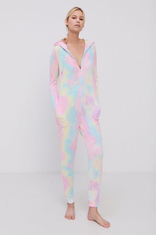 Brave Soul - Kombinezon piżamowy różowy