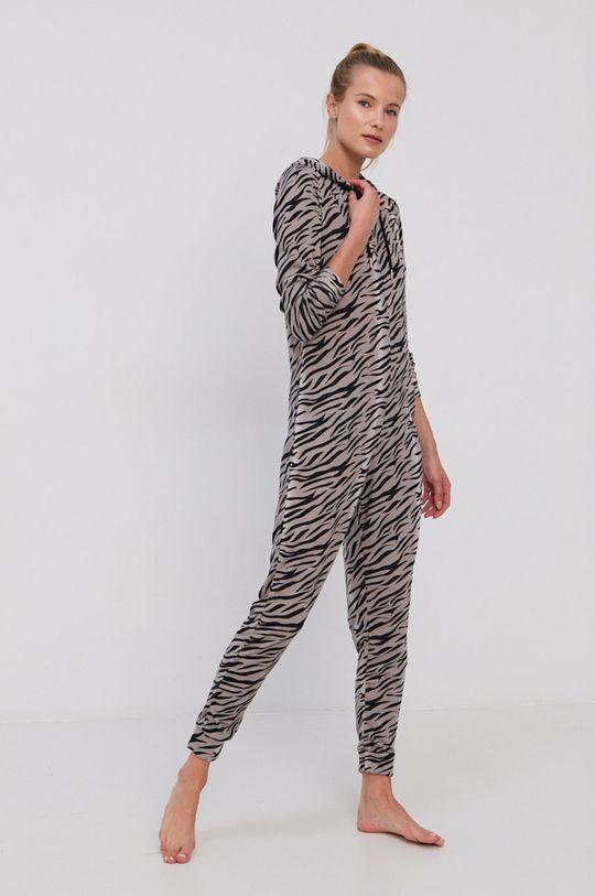 Brave Soul - Kombinezon piżamowy Snow Tiger szary