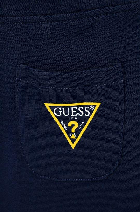 námořnická modř Guess - Dětské kalhoty