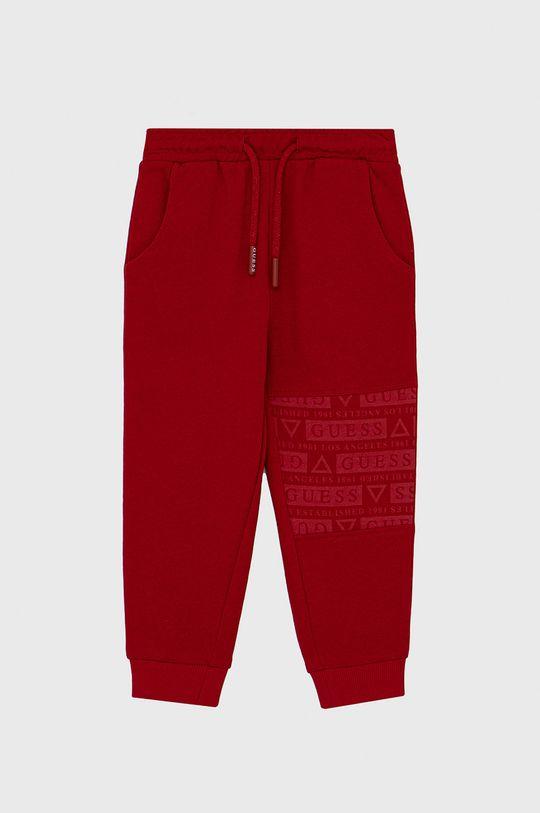 czerwony Guess - Spodnie dziecięce Chłopięcy