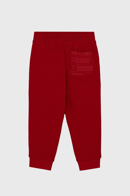 Guess - Spodnie dziecięce czerwony