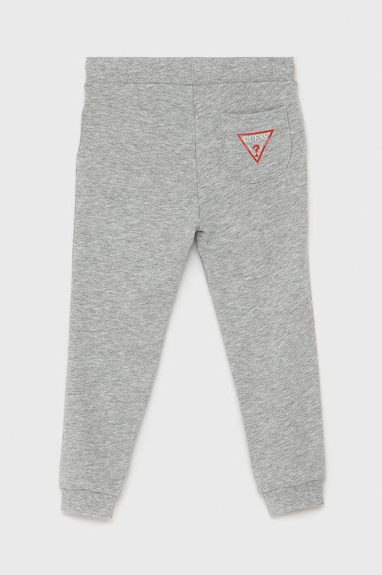 Guess - Dětské kalhoty světle šedá