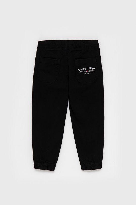 Tommy Hilfiger - Spodnie dziecięce czarny
