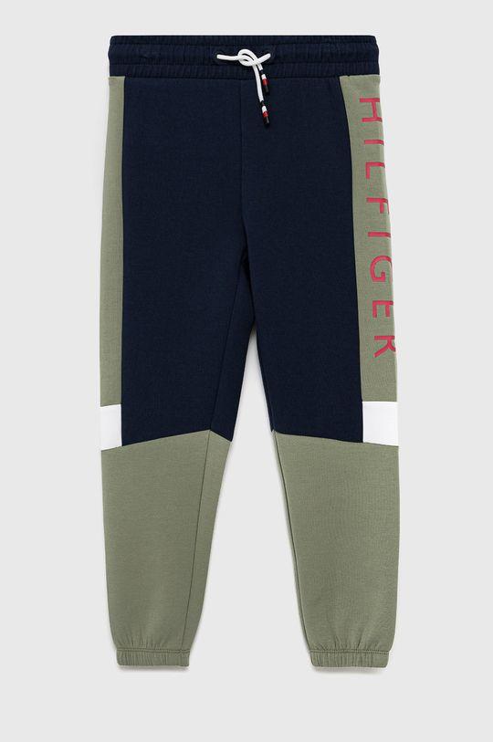 granatowy Tommy Hilfiger - Spodnie dziecięce Chłopięcy